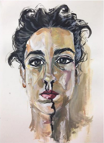 Self Portrait With Ink