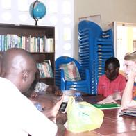 Teacher's team meeting SNTT, Kumasi