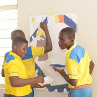 Art Challenge, Interschool Competition East, Navrongo