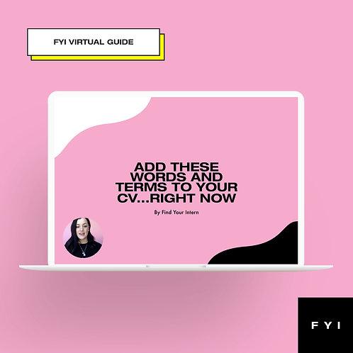 Virtual Guide - CV