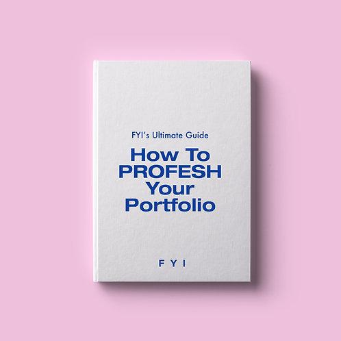 How To PROFESH Your Portfolio