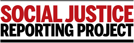 Social Justice Reporting Project lockup.