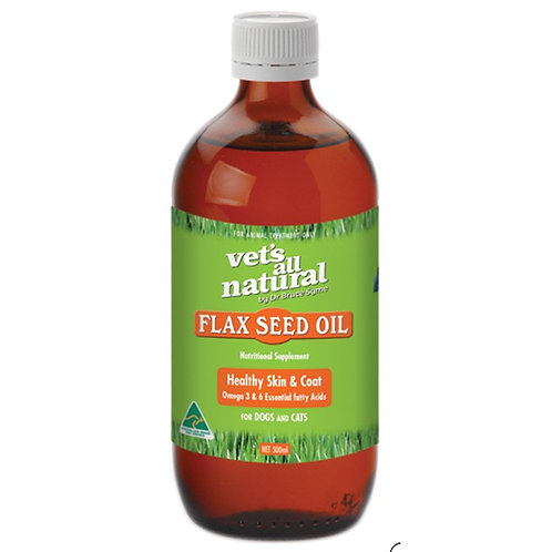 VET'S ALL NATURAL FLAX SEED OIL