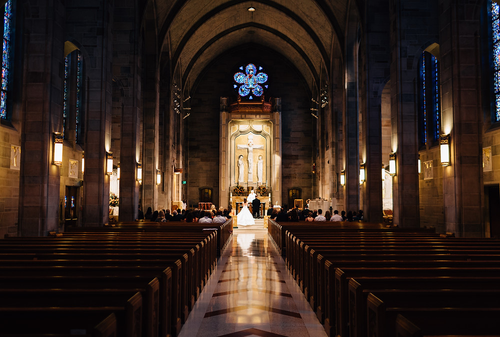 Cathedral of Christ the King wedding pictures