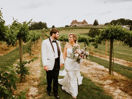 Alexa & Ryan's Chateau Elan Wedding