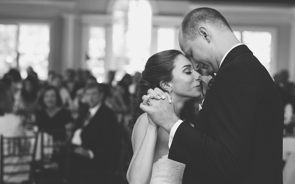 First dance in B&W