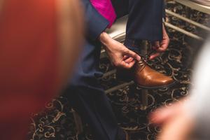 After the Joota Chupai, groom gets his shoe back