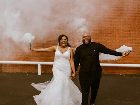 Myriam & Shawn's Wedding at Factory Atlanta