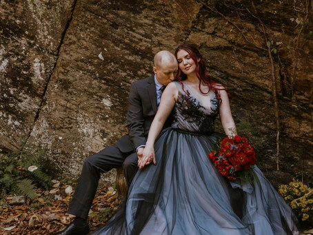 Katherine & Nathan | Hightower Falls Elopement