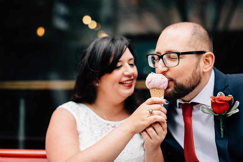 Ice Cream of your wedding day