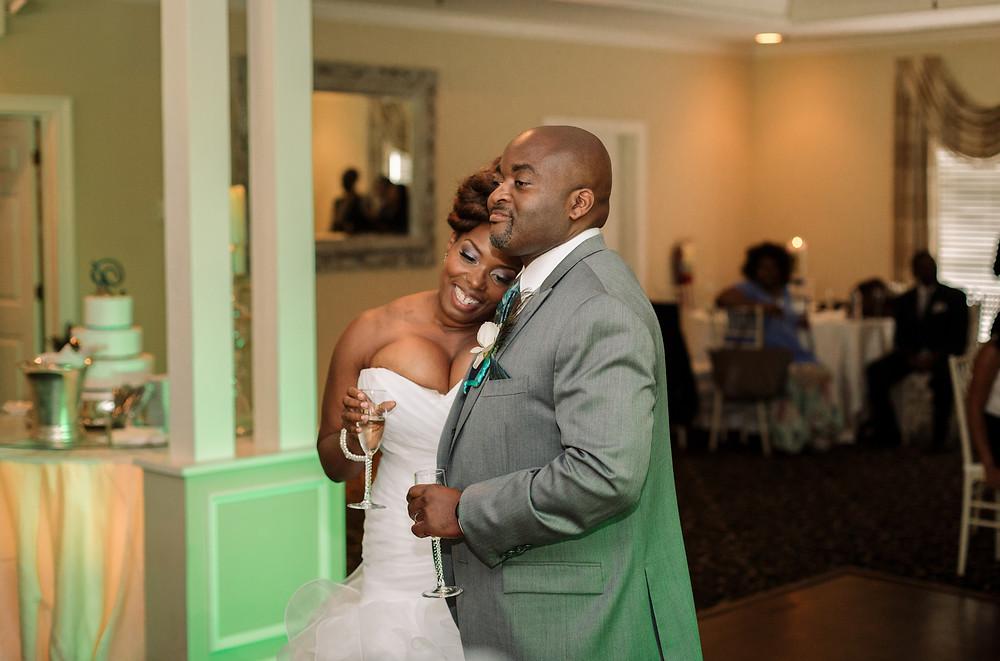 Reactions to wedding speeches