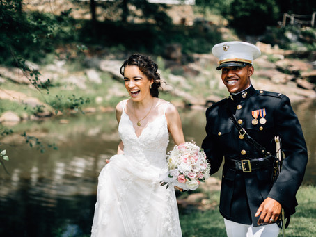Utterly Beautiful Marine Wedding