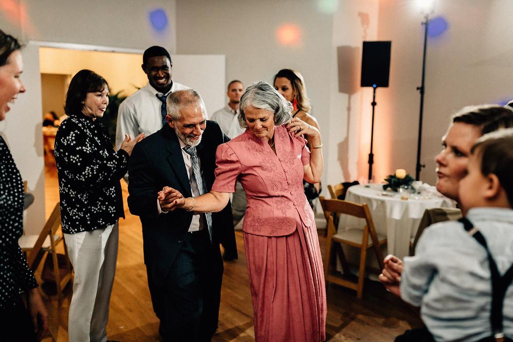 Grandparents are dancers!