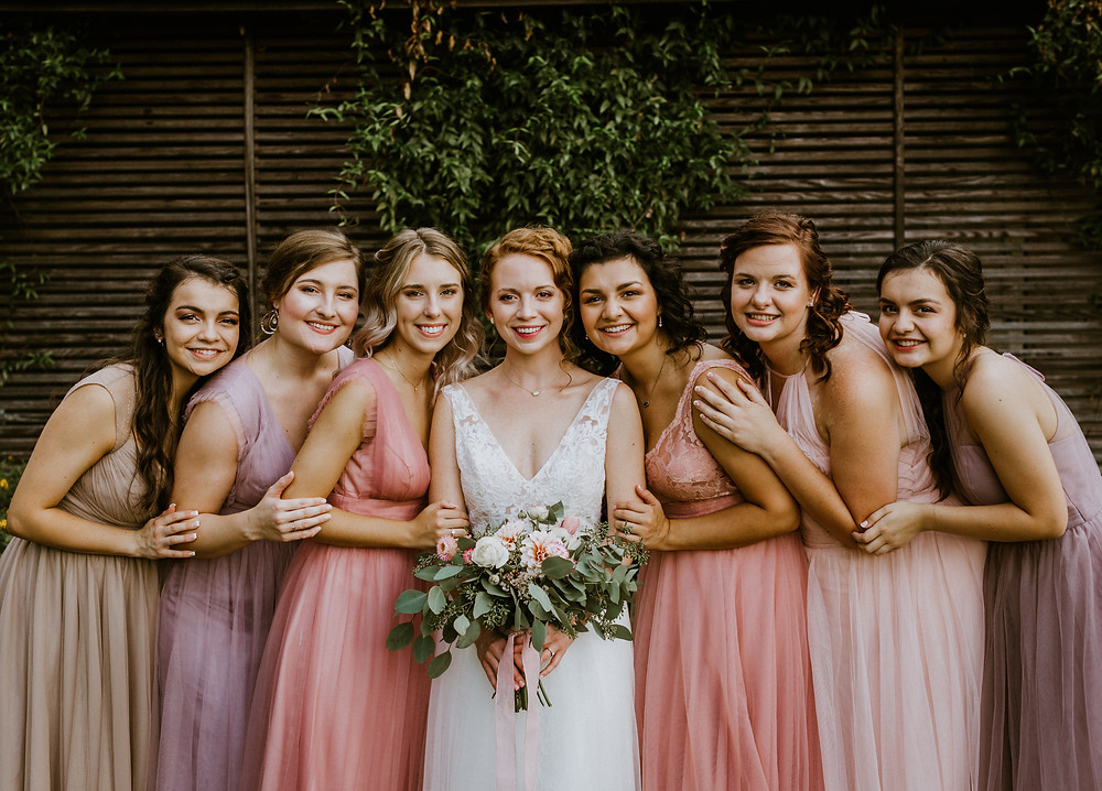 cherry hollow farms bridesmaids