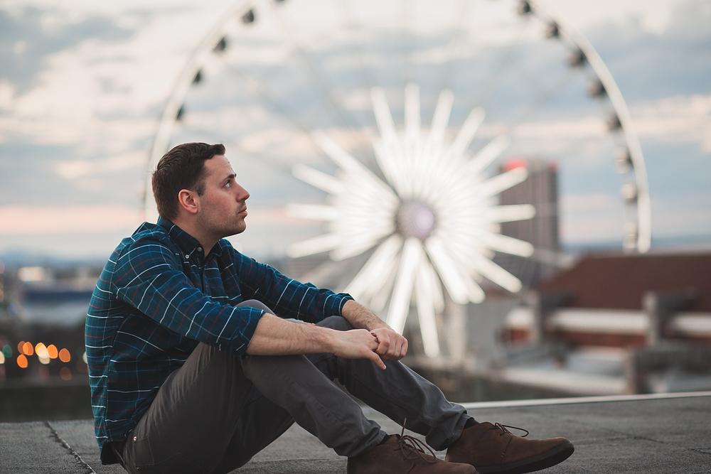 Atlanta rooftop ferris wheel