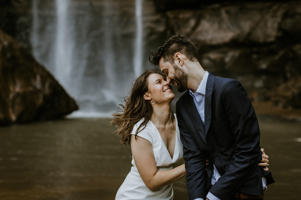 Adventurous Elopement in Georgia