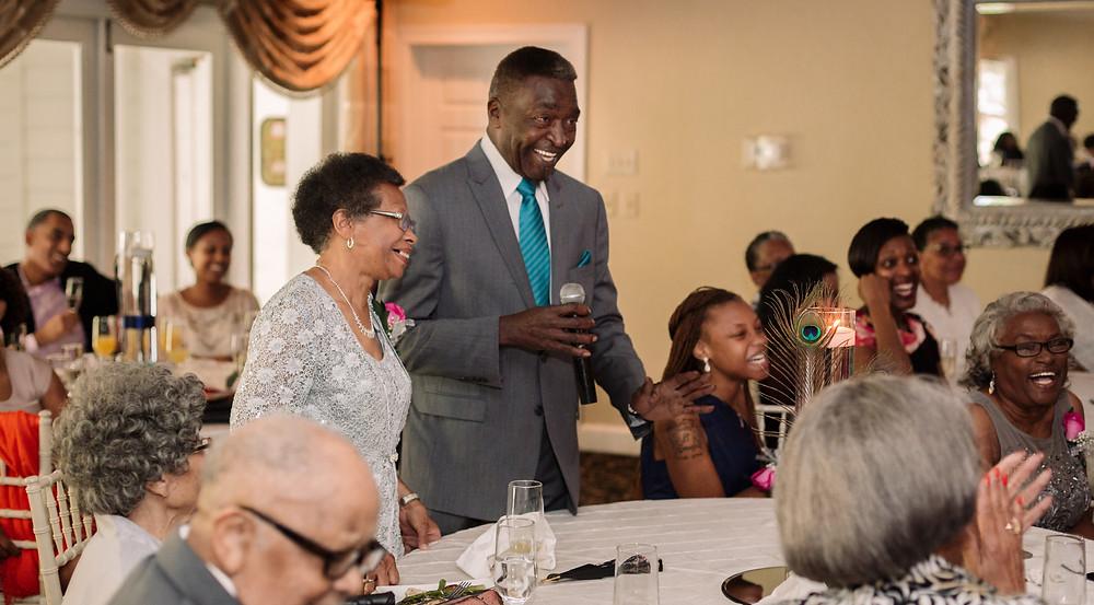 Grandparents wedding speech