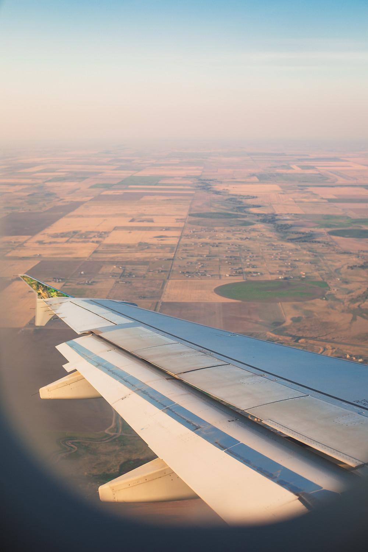 Denver is basically open plains