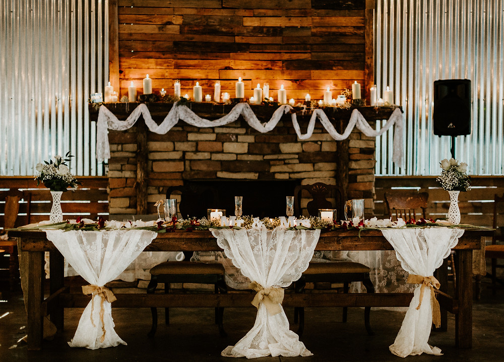 Wedding estate table