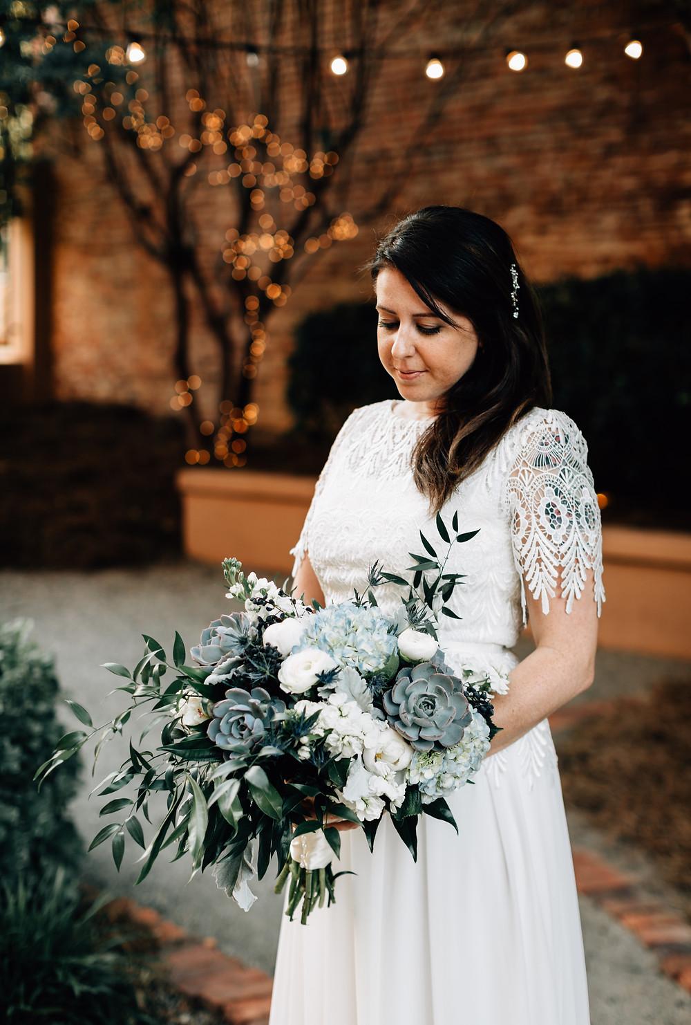 Junebug Weddings bride