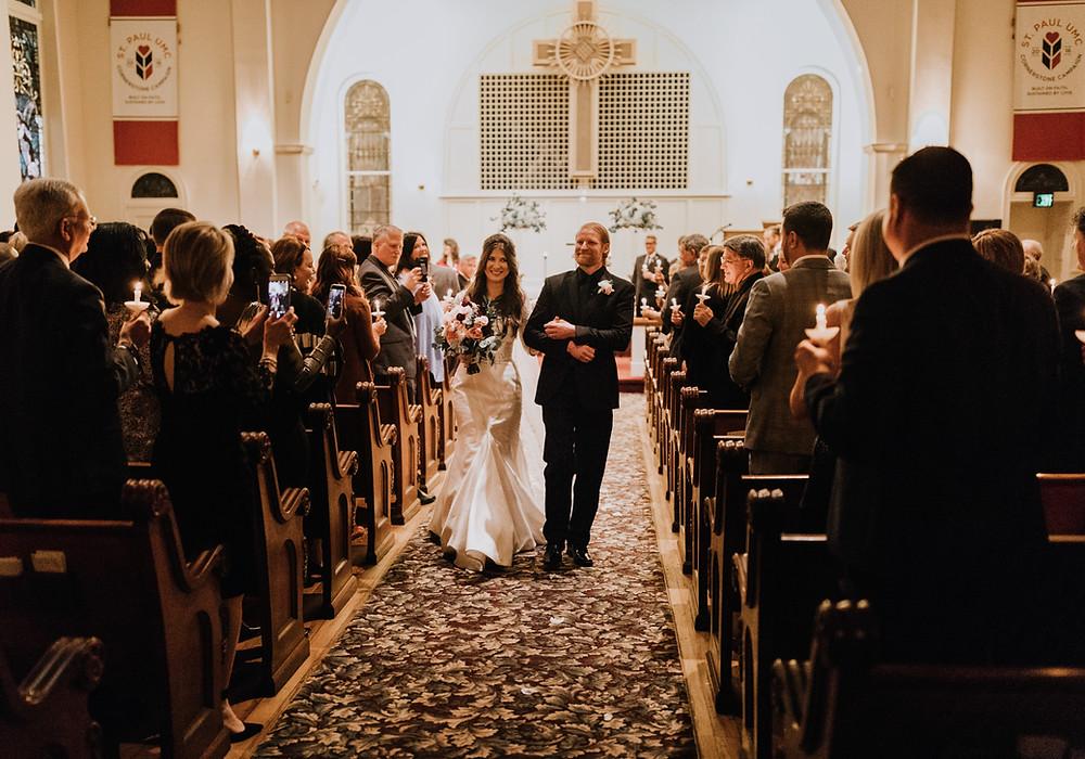 We married