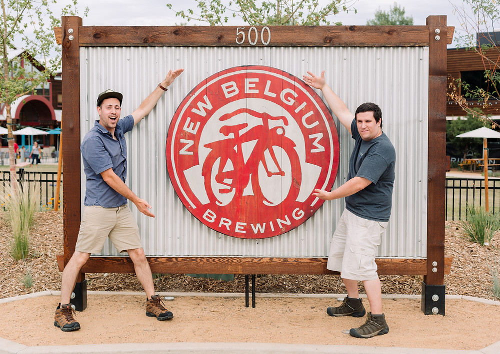 New Belgium Brewing sign Fort Collins