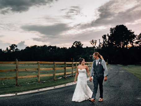 Jenna and Kyle's Wedding at The Stables at Boals Farm