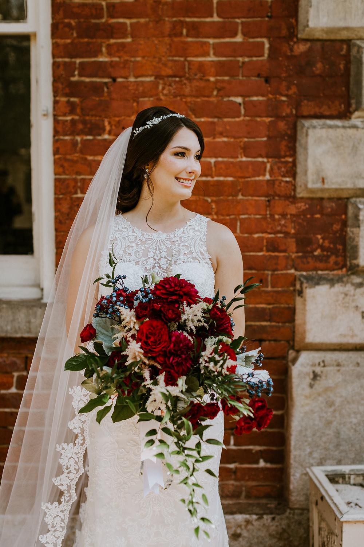 bridal headshot