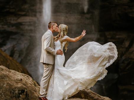 Macey & Jacob Toccoa Falls Wedding
