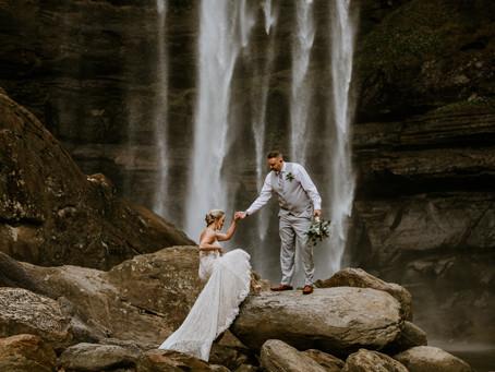Felicia & Greg's Toccoa Falls Elopement
