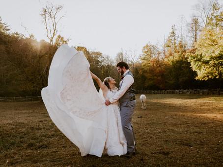 Michaela & Aaron's Neverland Farms Wedding