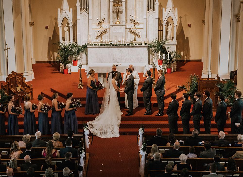 Atlanta catholic wedding