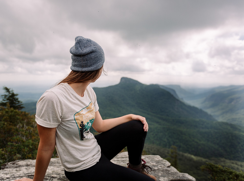 Women who hike Linville Gorge