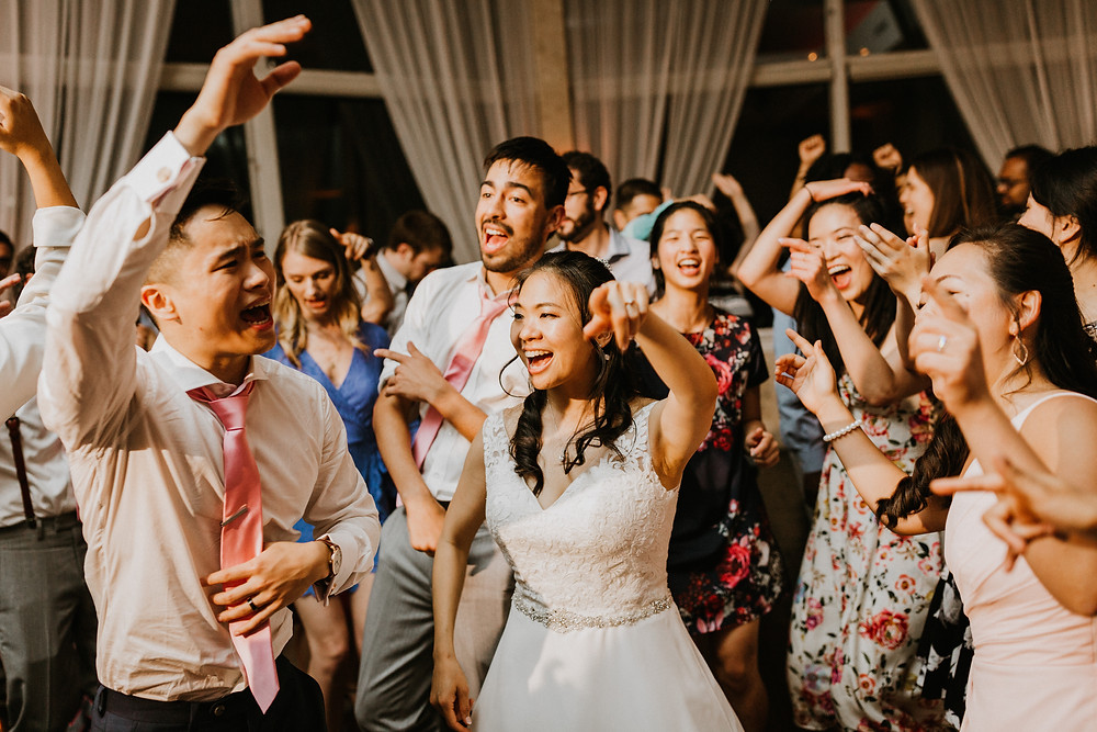 husband & wife dancing