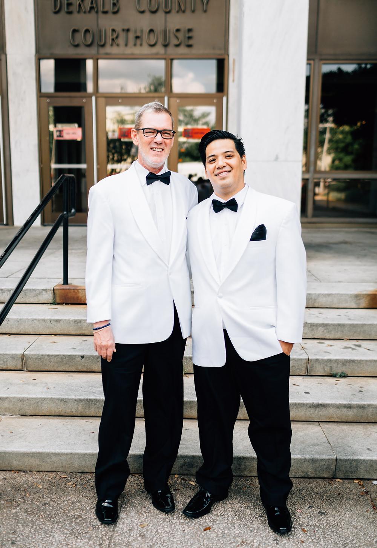 Dekalb County Courthouse wedding