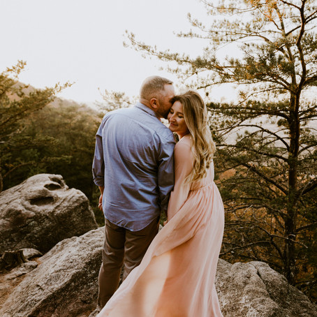 Taylor & John's Sawnee Mountain Engagement Session