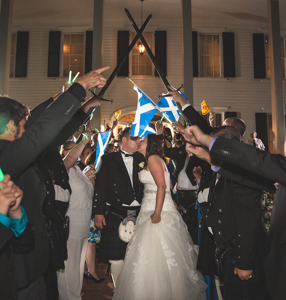Wedding exit ideas Flint Hill