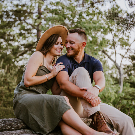 Kayla & Jeremy Sawnee Mountain Engagement Session