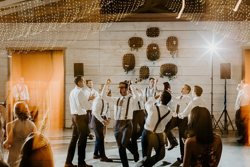 Atlanta artistic wedding