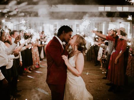 Angela & Kyle's Solarium Wedding