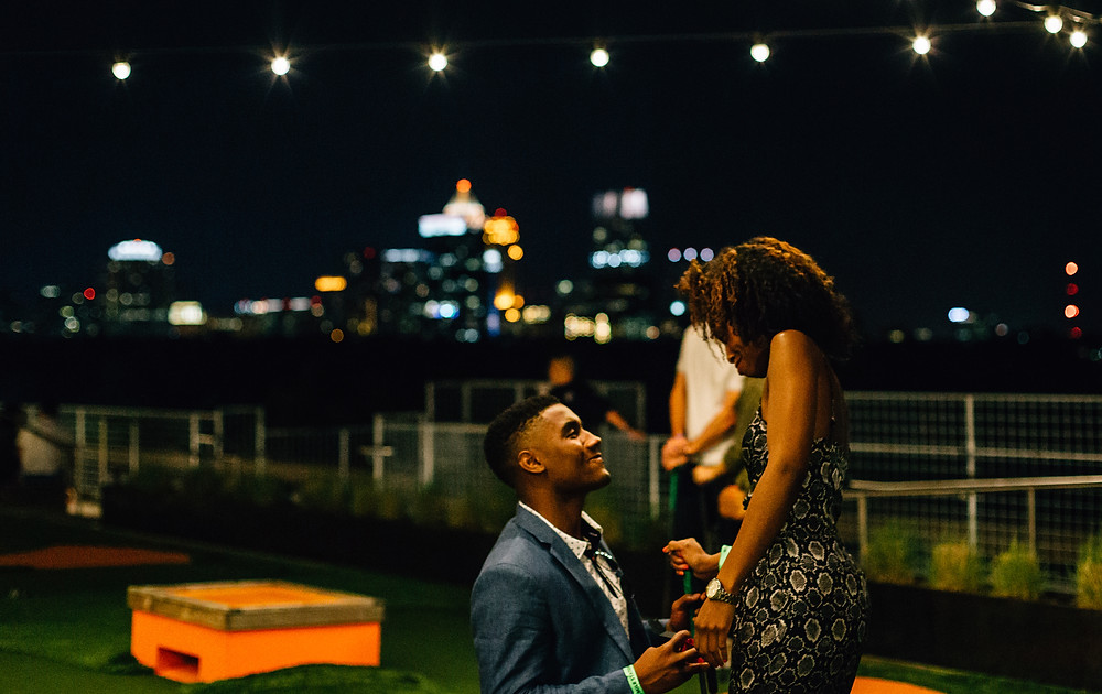 Atlanta marriage proposal