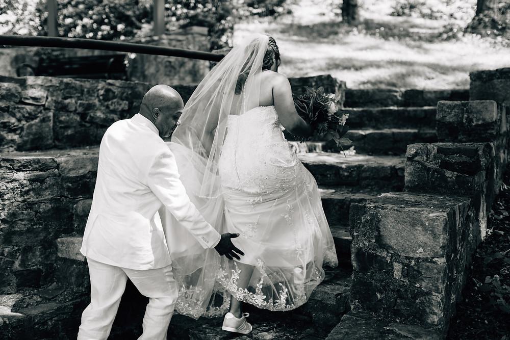 Magical wedding moments