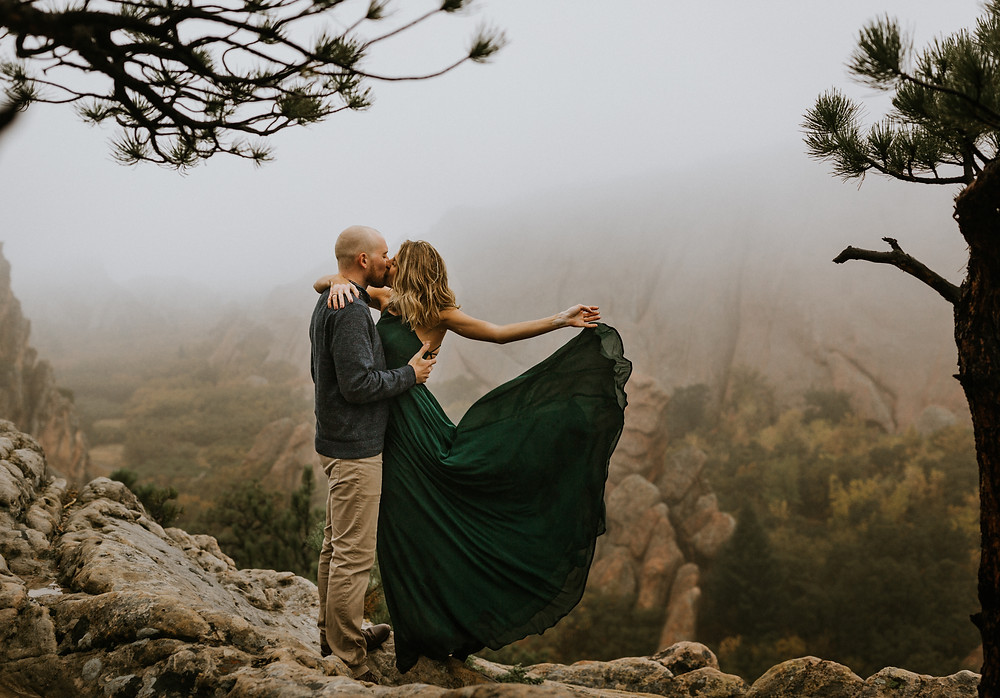 Roxborough State Park Engagement Pictures