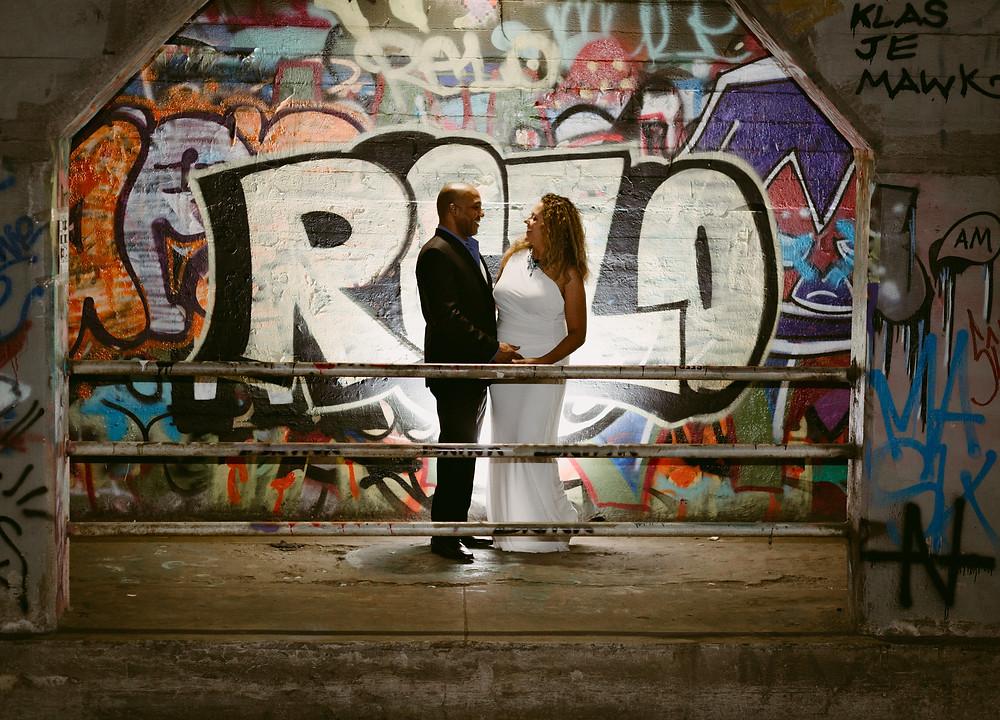 Krog Street Tunnel Atlanta Engagement session pictures