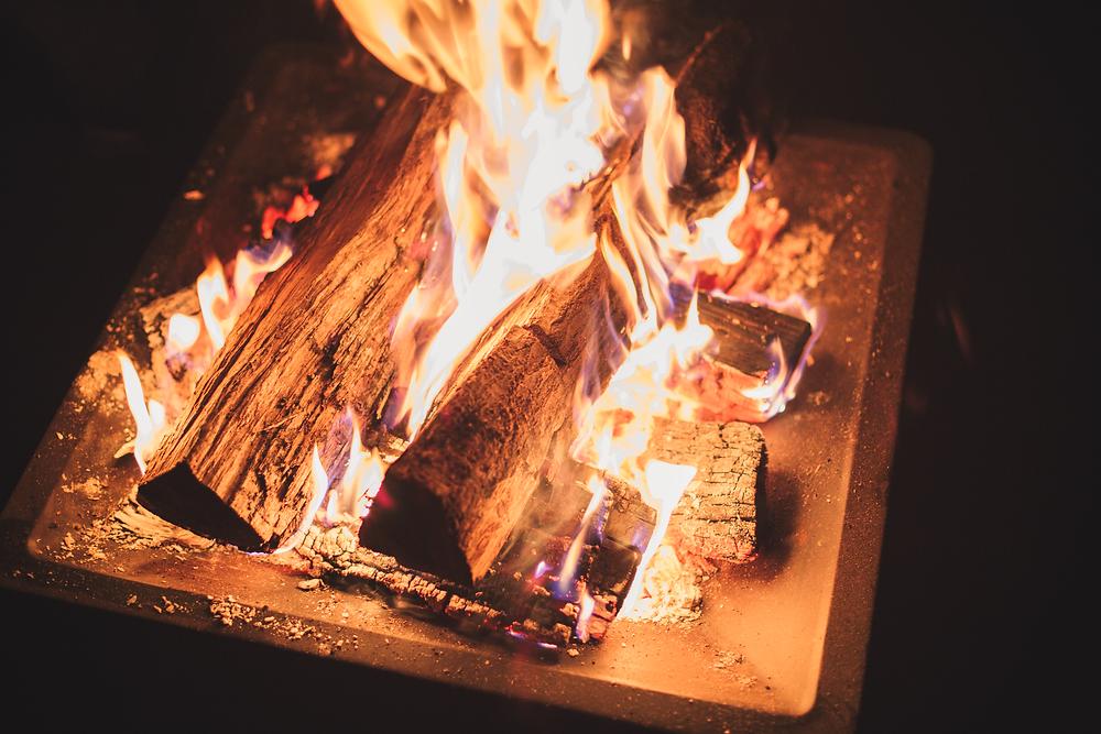 Woodfire in my backyard