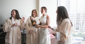 Champagne surprise