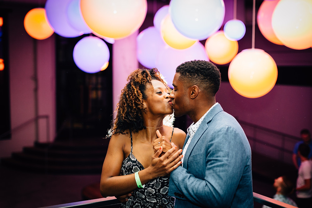 Ponce City Market engagement pictures