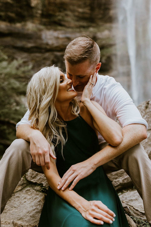 Nonposed Atlanta Engagement Photographers