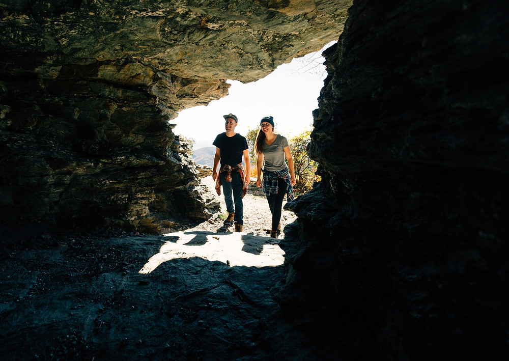Table Rock Mountain cave