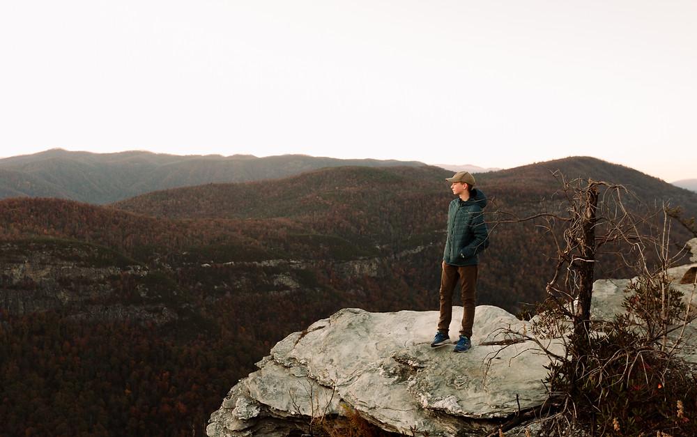 Linville Gorge at dusk